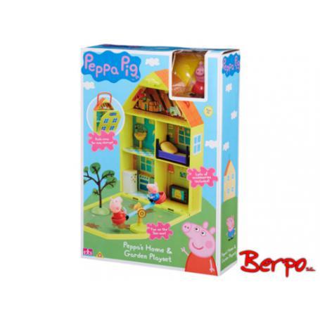 TM TOYS 06156 Domek Peppy z ogródkiem