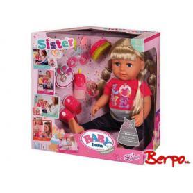 BABY BORN Lalka interaktywna Siostrzyczka 820704