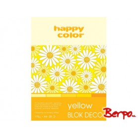 GDD Blok Deco yellow A4