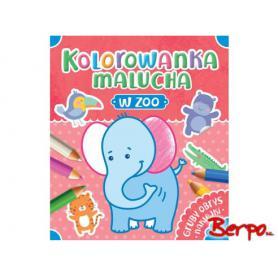 AKSJOMAT Kolorowanka malucha - w zoo 065238