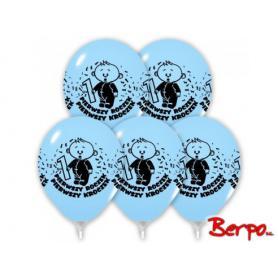 Bal balony urodzinowe roczek niebieskie 403081