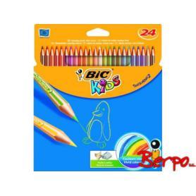 BIC 022510 Kredki Tropicolors2 24 kolory