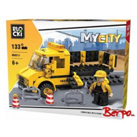 BLOCKI KB0211 MyCity Roboty drogowe