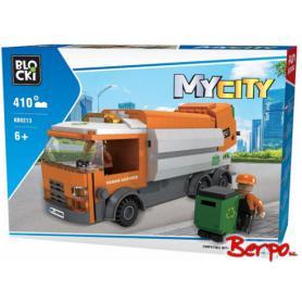 BLOCKI KB0213 MyCity Śmieciarka