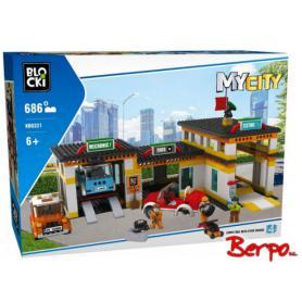 BLOCKI KB0221 MyCity Stacja obsługi