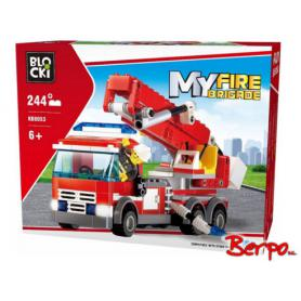 BLOCKI KB8053 MyFireBrigade Wóz strażacki