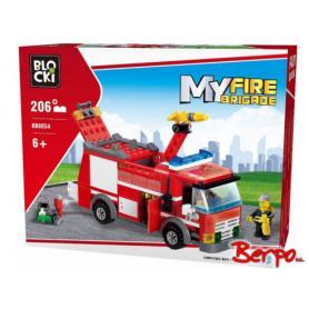 BLOCKI KB8054 MyFire Brigade Auto strażackie