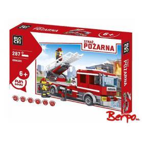 BLOCKI KB98205 Wóz strażacki