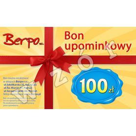 Bon upominkowy 100 zł