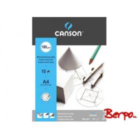 Canson blok techniczny biały A4 190029