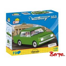 COBI 24542 Wartburg 353 zielony
