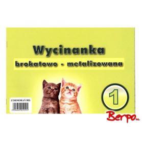 Cormoran Wycinanka brokatowo metalizowana 059294