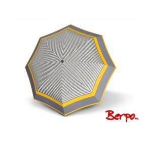 Parasol DOPPLER Mini Slim Marina czarno-biało-żółte paski 546749