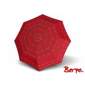 Parasol DOPPLER Fiber Havanna Sydney czerwony w kropki 722365S03