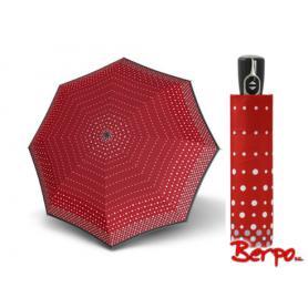 Parasol DOPPLER Fiber Magic Pearl czerwony w kropki 7441465PE01