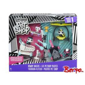 HASBRO C2452 Littlest Pet Shop Hałaśliwe wyścigi