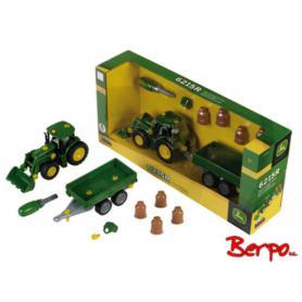 KLEIN 3905 Traktor John deere do skręcania