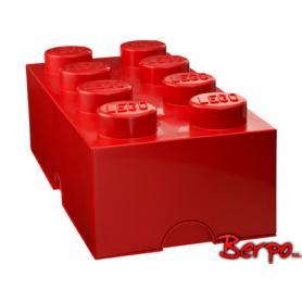 LEGO 400409 POJEMNIK 8 CZERWONY
