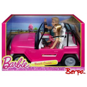 MATTEL CJD12 Barbie plażowy jeep