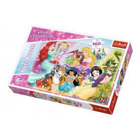Trefl 15364 Puzzle Księżniczki i przyjaciele