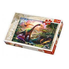 Trefl Puzzle Świat dinozaurów 100 el. 16277