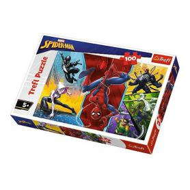 Trefl 16347 Puzzle Spiderman do góry nogami