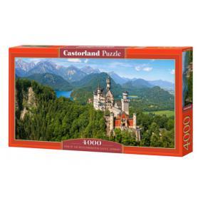 Castorland 400218 Neuschwanstein Zamek