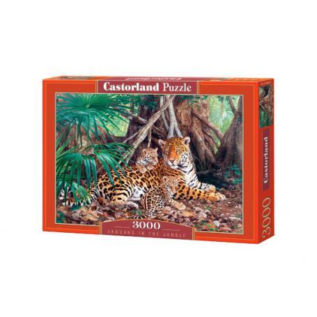 Castorland 300280 Jaguary w dżungi
