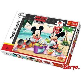 Trefl Puzzle Maxi Piknik na plaży 14236