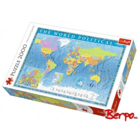 Trefl Puzzle Polityczna mapa świata 27099