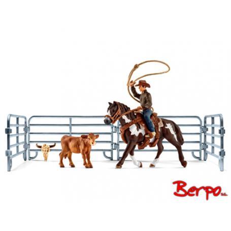 Schleich 41418 Kowboj łapiący na lasso