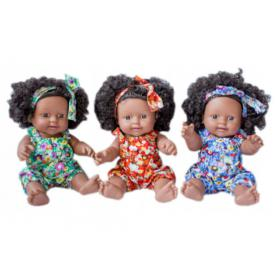 ASKATO 108094 Lalka afroamerykanka