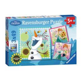 Ravensburger 092451 Puzzle Kraina lodu