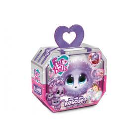 TM TOYS 669143 Fur Balls Lilac Fioletowy