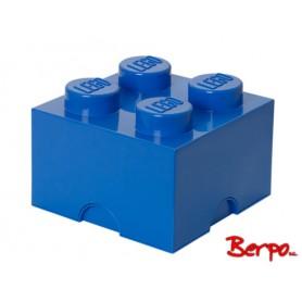 LEGO 400317 POJEMNIK 4 NIEBIESKI