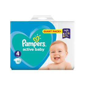 Pampers active baby rozmiar 4 950376