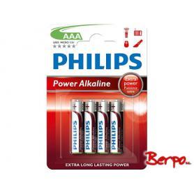 Philips Power Alkaline AAA LR03P4B/10