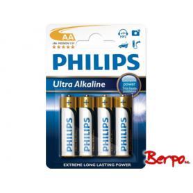 Philips Power Alkaline AA LR6 LR6E4B/10