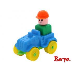 Polesie Klocki mały wędrownik - Traktor 55323