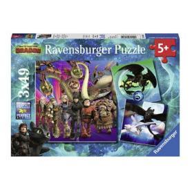 Ravensburger 080649 Puzzle Jak wytresować smoka