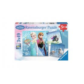 Ravensburger 092642 Puzzle Kraina lodu