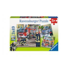 Ravensburger 093359 Puzzle Służby ratunkowe