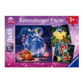 Ravensburger 093397 Puzzle Księżniczki