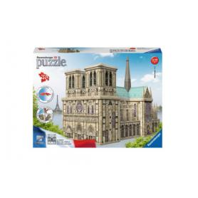 Ravensburger 125234 Puzzle 3D Notre-Dame