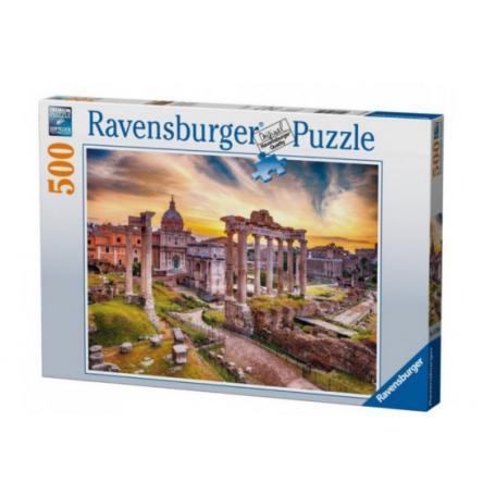 Ravensburger 147595 Puzzle Rzym o zmierzchu