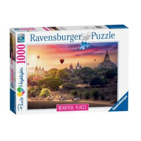 Ravensburger Puzzle Balony nad Myanmar 151530
