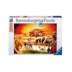 Ravensburger 170562 Puzzle Sawanna masajów