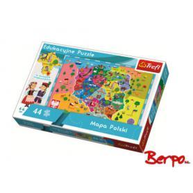 Trefl Puzzle Mapa Polski 15501