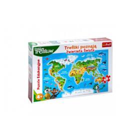 Trefl 15552 Puzzle Zwierzęta świata