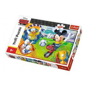 Trefl 16353 Puzzle Myszka Miki na boisku